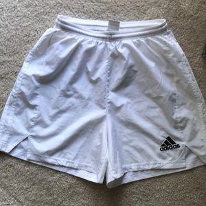 Adidas - White climacool sport short - size M